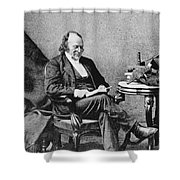 Louis Agassiz, Swiss-american Polymath Shower Curtain