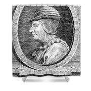 Louis Xi (1423-1483) Shower Curtain