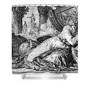Louis Xv (1710-1774) Shower Curtain
