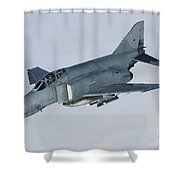 Luftwaffe F-4f Phantom II Shower Curtain