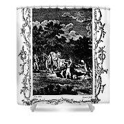 Plague Of London, 1665 Shower Curtain