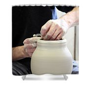 Pottery Wheel, Sequence Shower Curtain