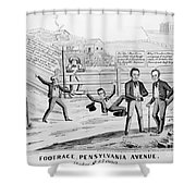Presidential Campaign, 1844 Shower Curtain
