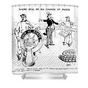 Presidential Campaign, 1904 Shower Curtain