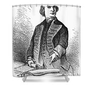 Samuel Adams (1722-1803) Shower Curtain