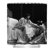 Sarah Bernhardt (1844-1923) Shower Curtain