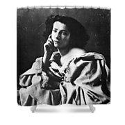 Sarah Bernhardt Shower Curtain