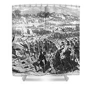 Seven Days Battles, 1862 Shower Curtain