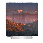 Sierra Nevada Shower Curtain