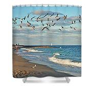 5- Singer Island 8x 10 Shower Curtain