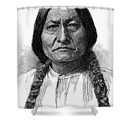 Sitting Bull (1834-1890) Shower Curtain
