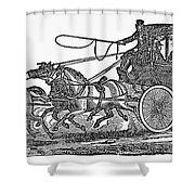 Stagecoach, 19th Century Shower Curtain