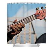 5-string Bass Shower Curtain