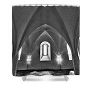 The Castle Of Tavastehus Shower Curtain