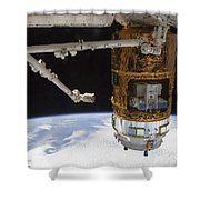 The Japanese H-ii Transfer Vehicle Shower Curtain