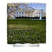 The White House Shower Curtain