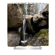 Wailua Falls Shower Curtain