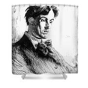 William Butler Yeats Shower Curtain