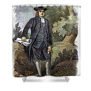 William Penn (1644-1718) Shower Curtain by Granger