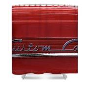 56 Ford F100 Custom Cab Shower Curtain
