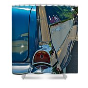 57 Chevy Bel Air 2 Shower Curtain
