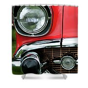 57 Chevy Right Front 8561 Shower Curtain