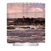 583 P R Monterey 1 Shower Curtain