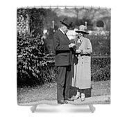 Calvin Coolidge (1872-1933) Shower Curtain
