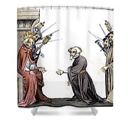 Charlemagne (742-814) Shower Curtain