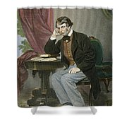 Charles Sumner (1811-1874) Shower Curtain
