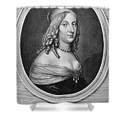Christina (1626-1689) Shower Curtain