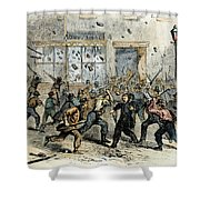 Civil War: Draft Riots Shower Curtain