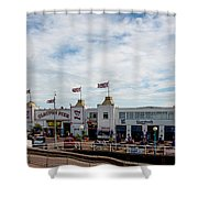Clacton Pier Shower Curtain