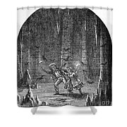 Clemens: Tom Sawyer Shower Curtain by Granger
