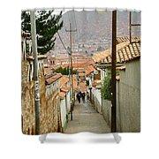 Cusco Peru Street Scenes Shower Curtain