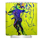 Dinka Dance - South Sudan Shower Curtain
