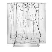 Edward Bulwer Lytton Shower Curtain