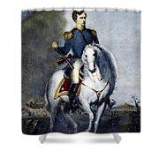 Franklin Pierce (1804-1869) Shower Curtain