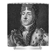 George Iv (1762-1830) Shower Curtain