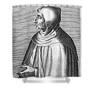 Girolamo Savonarola Shower Curtain