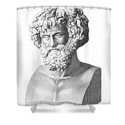Hannibal (247-183 B.c.) Shower Curtain by Granger