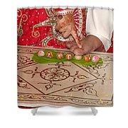 Hindu Wedding Ceremony Shower Curtain