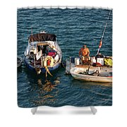 6- Home-sweet-home Shower Curtain