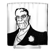 James Whitcomb Riley Shower Curtain