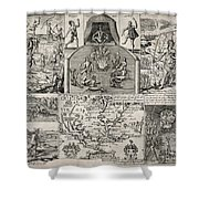 John Smith (1580-1631) Shower Curtain