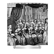 Louis Xiv (1638-1715) Shower Curtain