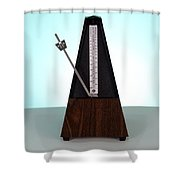 Metronome Shower Curtain