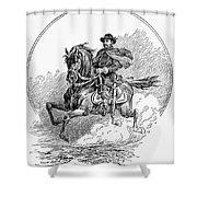 Philip Henry Sheridan Shower Curtain