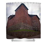The Castle Of Tavastehus Shower Curtain