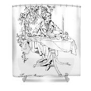 Thomas Moore (1779-1852) Shower Curtain